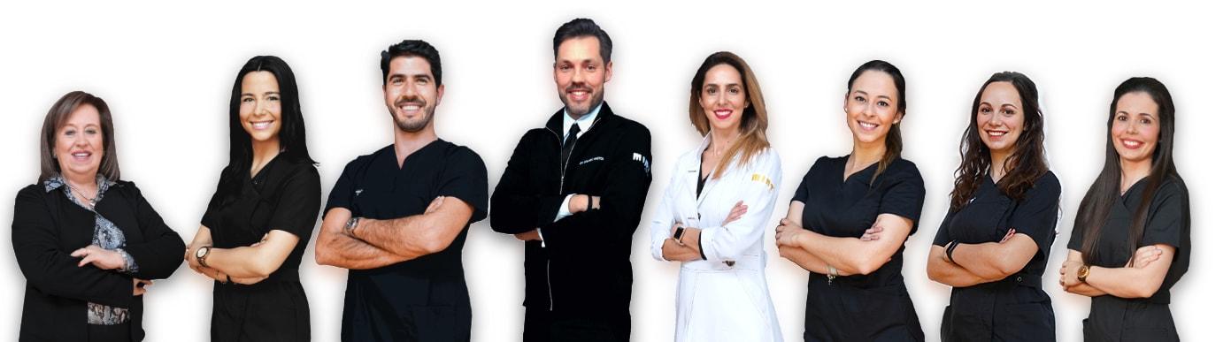 Equipa de Dentistas em Lisboa da Clínica MINT Saldanha